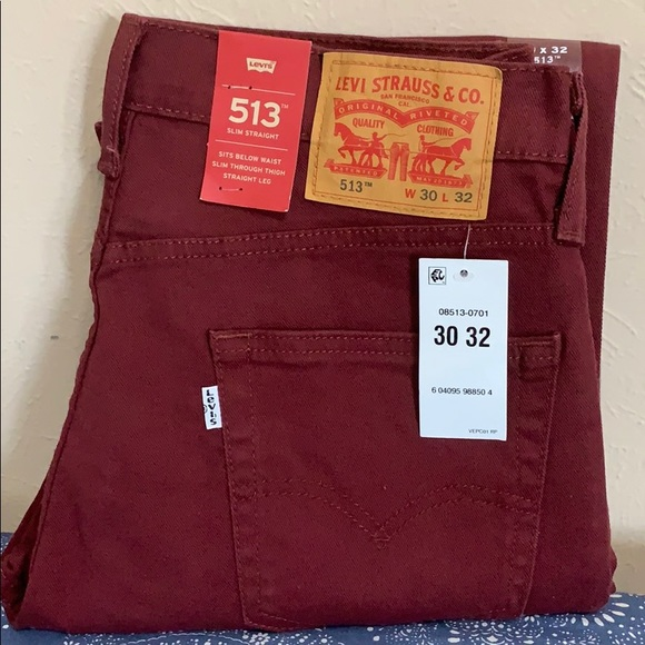 Levi's Other - Mens levis 513 slim straight stretch  jeans